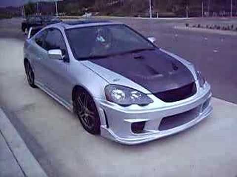 2002 Acura  Type on Rsx Type S Toda Exhaust