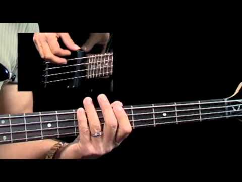 How To Play Blues Bass - #4 Swing 8th Grooves - Bass Guitar Lessons For Beginners video