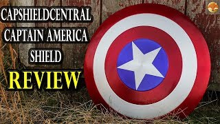 Capshieldcentral Captain America Shield - Review