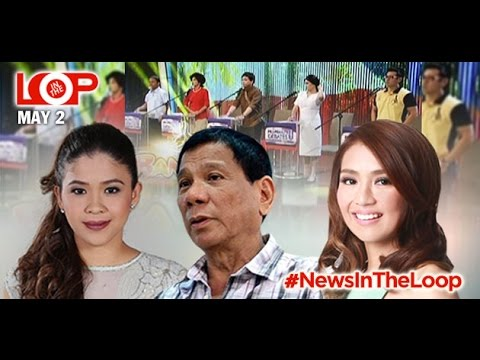 In the Loop: Duterte's bank account; Melai's answer