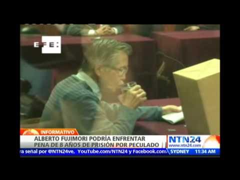 Expresidente Alberto Fujimori clama su inocencia al cierre del último juicio en su contra en Perú