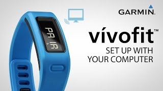 Garmin vívofit: set up with your computer