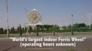 Welcome to Crazy Land: Turkmenistan, Ashgabat & the Yyldyz Hotel