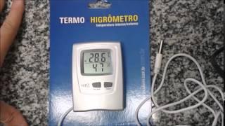 Termo Higrômetro
