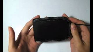 PDair   Leather Case for BlackBerry Curve 9220 - Vertical Pouch Type