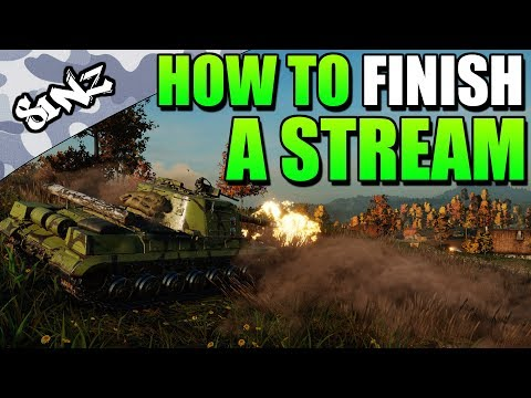 HOW TO FINISH A STREAM - World of Tanks Console | Object 268 Gameplay