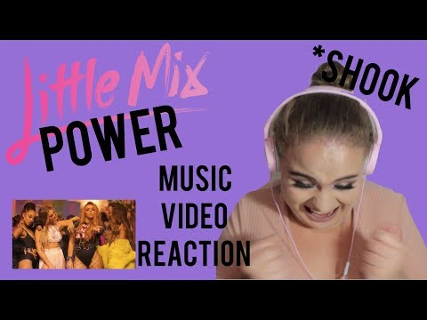 Cover Lagu Little Mix - Power (Official Video) ft. Stormzy REACTION - Elise Wheeler