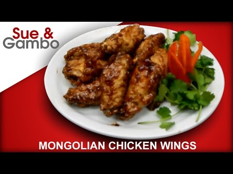 Mongolian chicken Wings recipe