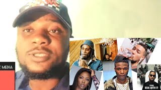 Wizkid And Burna Boy Slams Rapper AKA Over Xenophobic | Tiwa Savage And Phyno