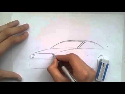 Видео как нарисовать авто