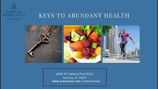 Health Week 2020 - Night 5