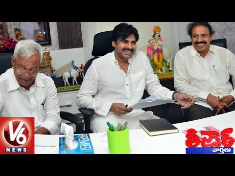 Pawan Kalyan Meets CPI And CPM Leaders In Vijayawada | AP Special Status Row | Teenmaar News