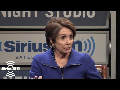 Nancy Pelosi: I Ran For Congress to Address AIDS // SiriusXM