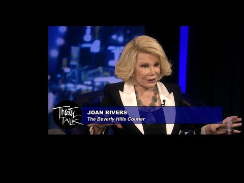 Theater Talk - Critics Ben Brantley, Peter Marks, Joan Rivers (Full Episode)