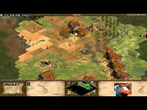 4v4 (3v4) Arabia - Huns Flank