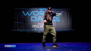 Poppin John  FrontRow  World of Dance 2017  WODATL