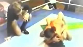 #Sexy  Women Wrestling Professional# Catfight Kyla vs Nadege