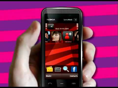 Nokia 5530 XpressMusic Promo Demo Commercial