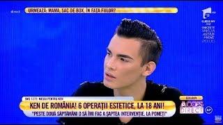 """Păpuşa Ken de România: """"Nu pot să mă accept așa cum sunt"""""""