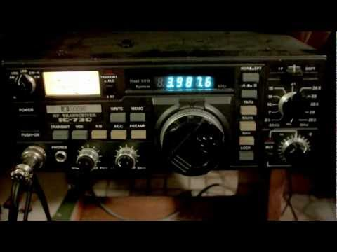 ICOM 730 HAM HF Transceiver Radio IC-730