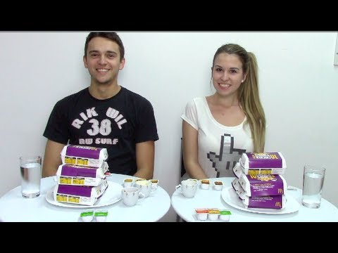 Desafio dos Nuggets - The Chicken Nugget Challenge (com Leandro)