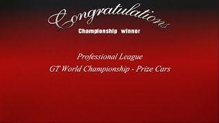 Gran Turismo 3 - Professional League - GT World Championship Prize Cars