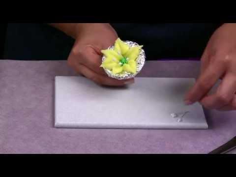 Como hacer una flor de lily