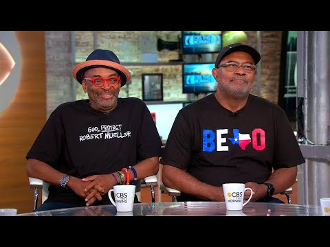 "Spike Lee, Real-life Ron Stallworth Talk New Film ""BlacKkKlansman"""