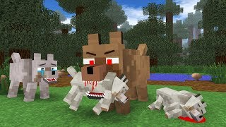 Wolf Life III - Minecraft Animation