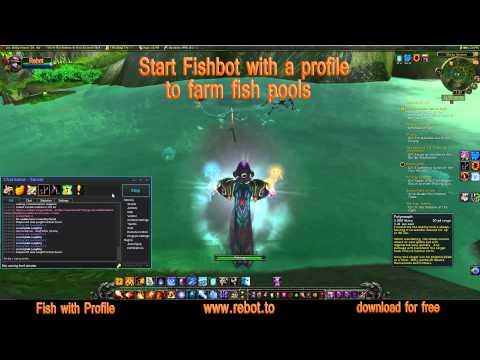 WoWBot ReBot - Fish botting in World of Warcraft