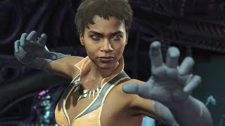 Injustice 2 - Vixen Premiere Skin Character Interactions - Intros And Dialogue