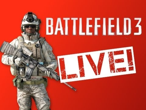 Battlefield 3 Pre-Patch PC Livestream! (recording)