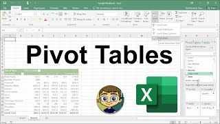 Advanced Excel - Creating Pivot Tables in Excel Tutorial 2018