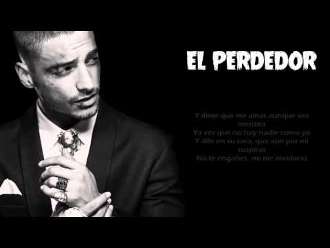 El Perdedor - Maluma  [Video Con Letra] Reggaeton