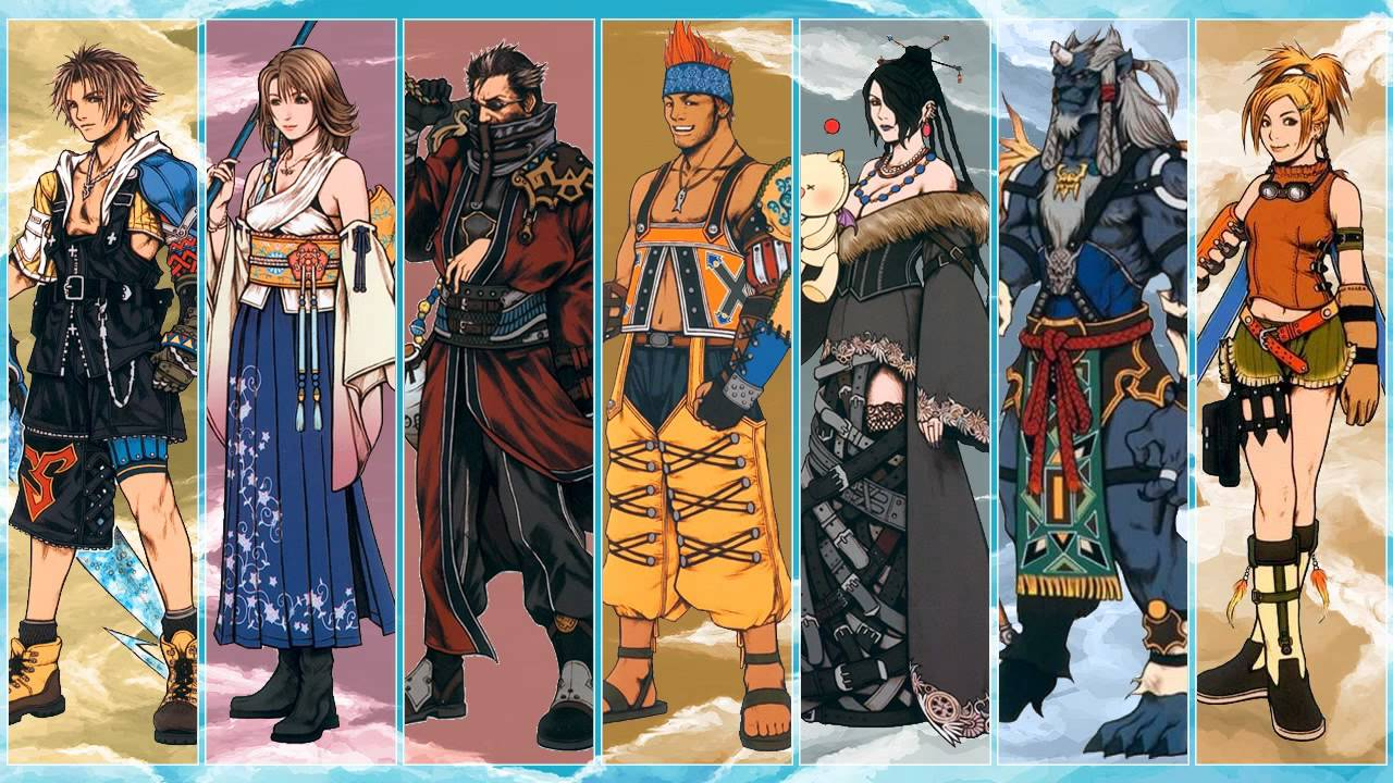 Final Fantasy X Characters Themes YouTube