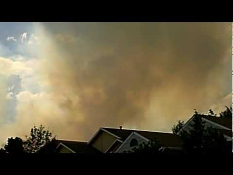 Colorado's Waldo Canyon fire forces 11000 people from their homes ...