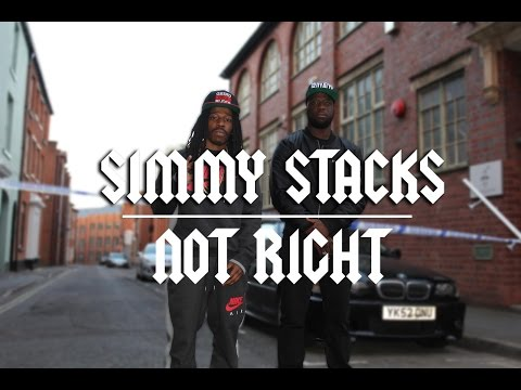 Simmy Stacks Not Right rap music videos 2016