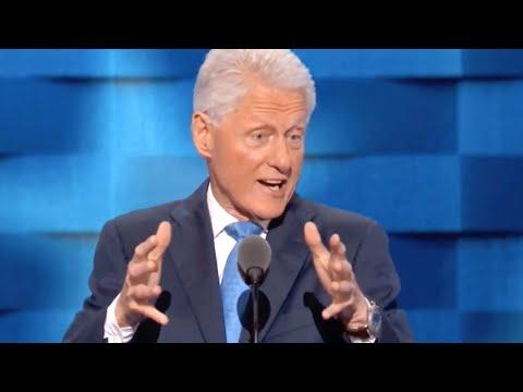 "Bill Clinton Destroys Trump's ""Cartoon"" Version of Hillary"