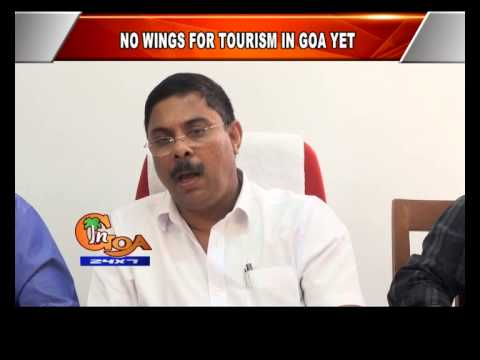 NO WINGS FOR TOURISM IN GOA YET