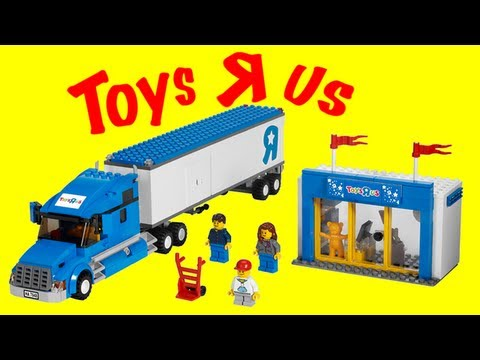 LEGO 7848 Toys R Us Truck LEGO City Review
