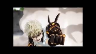 One- punch man- Genos V.S. Saitama (English Dubbed)