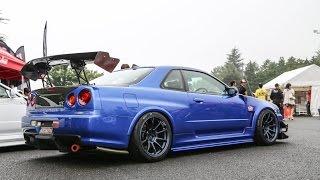 Nissan GTR Race Compilation [Top Nissan Skyline GTR R34 Race Collection]