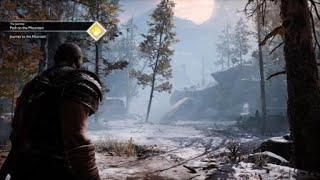 God of War PS4: Kratos vs The Stranger (Boss Fight)