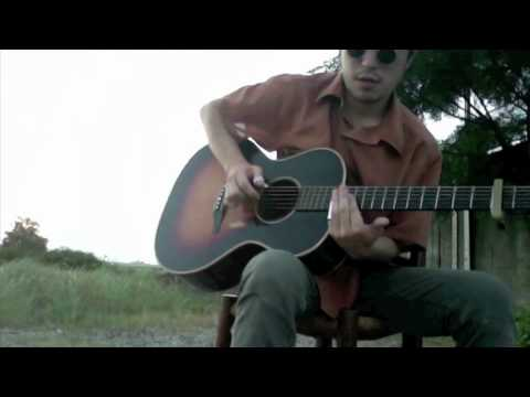 Crossroad Blues - Robert Johnson (open A + capo on 2nd)