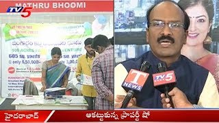 Namasthe Telangana - Telangana Today Property Show at Shilpakala Vedika Ends | Hyderabad