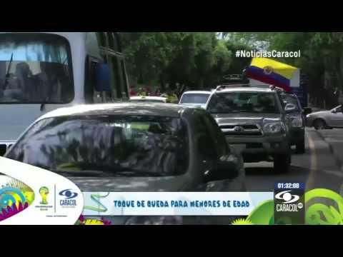Conozca las medidas que se alistan en Colombia de cara al partido del sábado 26 de Junio de 2014