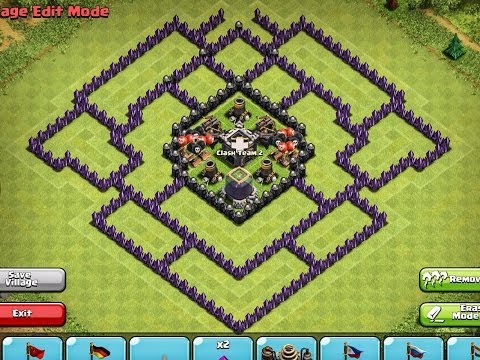 Clash Of Clans - EPIC TOWN HALL 9 Farming Base !