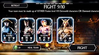 SHAO KAHN RELIC HUNT COmplete Towers #1-5 (ALL BOSSES and TEST UR MIGHTS GAMEPLAY)update1.15 mkx iOS