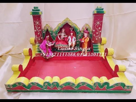 Indian Wedding Theme Saree Packing Tray Youtube