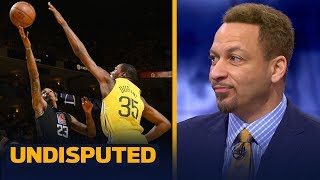 Warriors in 'no trouble' after Clippers comeback win in Game 2— Chris Broussard | NBA | UNDISPUTED